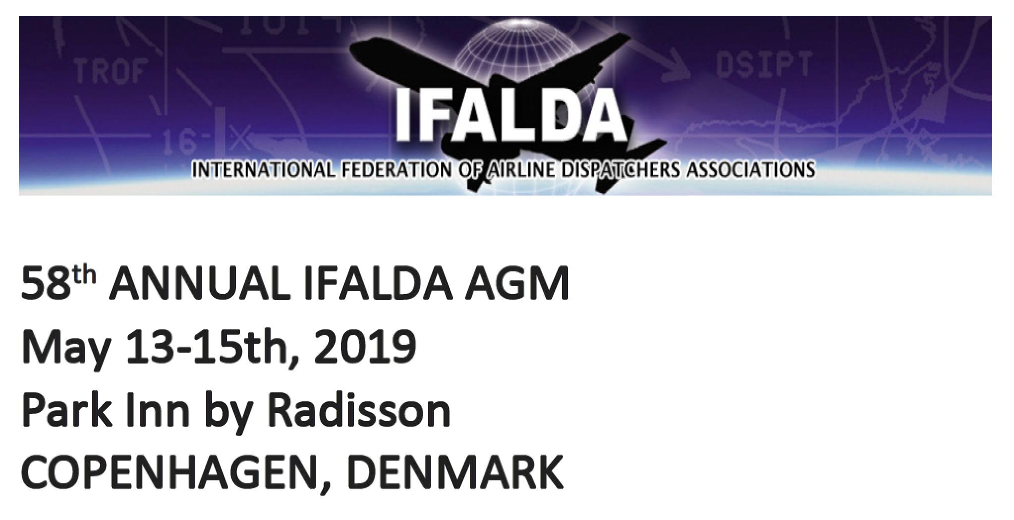 Agenda EUFALDA/IFALDA AGM in Copenhagen